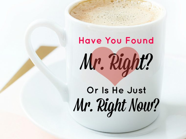Mr. Right Mug